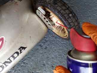 Lube wheel