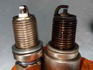 Mower spark plug