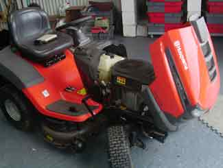 Husqvarna Mower Dies When Blades Engaged (this is why)