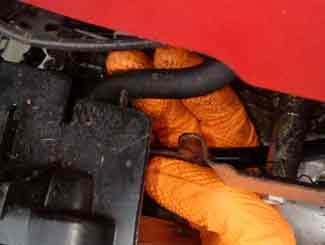 Carburetor removal