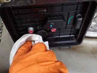 mower air filter