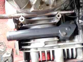 mower intake gasket