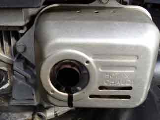 Mower Engine oil leak