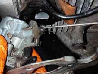 Remove carburetor