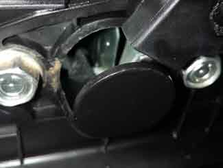 Lawn mower carburettor