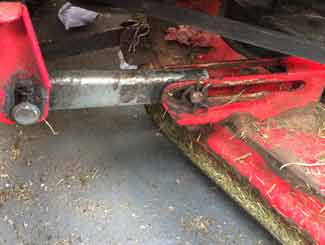 Mower deck linkages