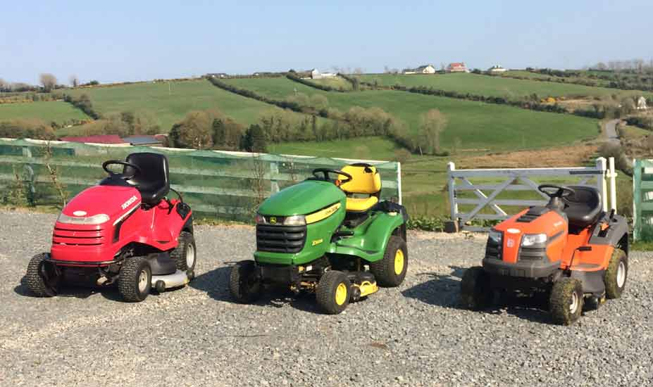 Tractor mowers