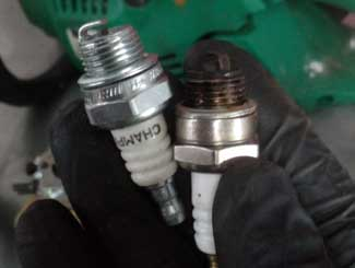 Chainsaws spark plugs