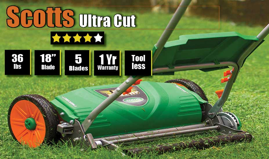 Scotts manual push mower