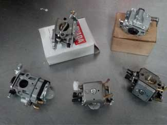 Chainsaw carburettors