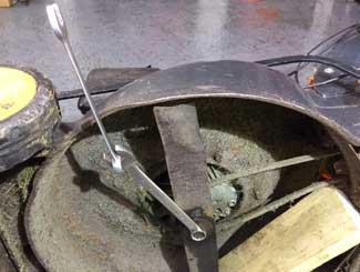Mower flywheel