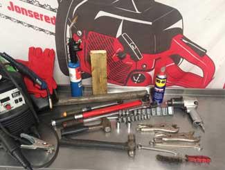 mower engine tools