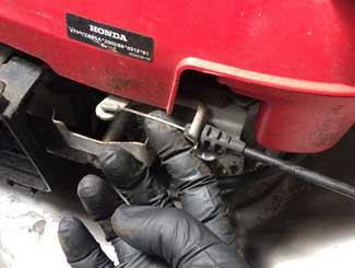 mower engine valves