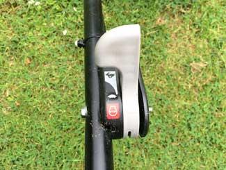 Honda throttle lever