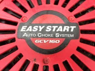 Honda mower auto choke engine cover