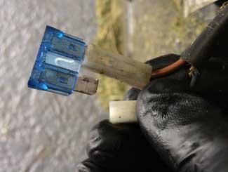 Husqvarna mower sensor wiring
