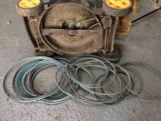 Mower drive belt