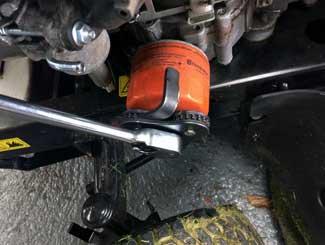 Oil filter fitting