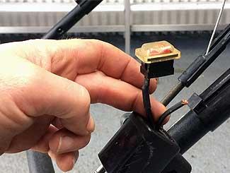 Toro loose wiring