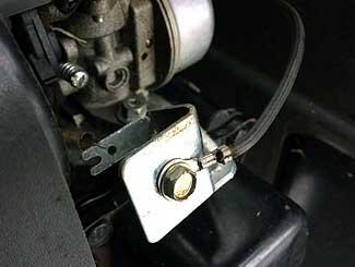 Ground side wiring Toro Timemaster