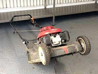 Mower pull cord