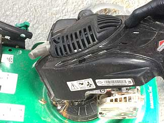 Lawn mower pull assembly