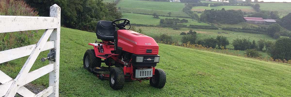 Tractor mower Co Cavan Ireland