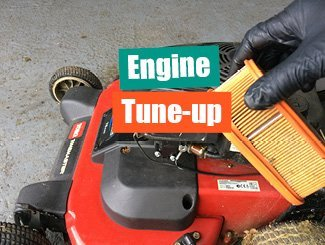 Mower engine tune-up