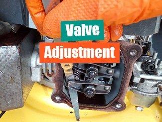 Adjust valves