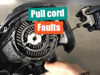 Pull cord fault