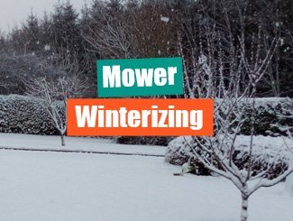 Winterize mower