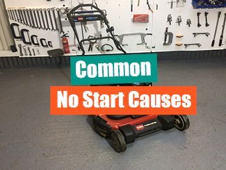 Toro mower won't start