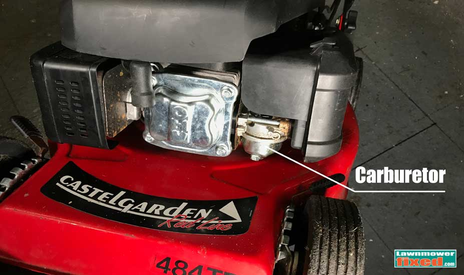Mower carb