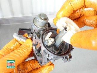 Rebuild carburetor