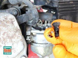 Honda generator engine idle jet