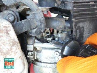 Removing Honda generator engine idle jet