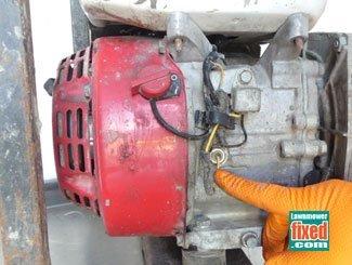 Honda low level oil switch