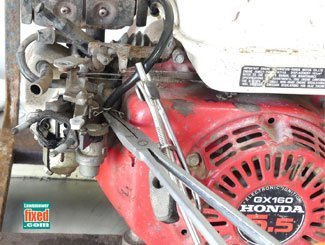 Fuel line removal