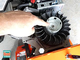 Flywheel nut