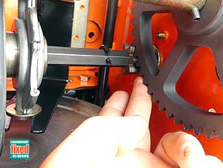 Drive gear lube