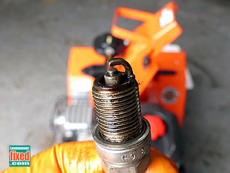 Oily plug
