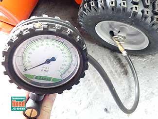 Pump tires