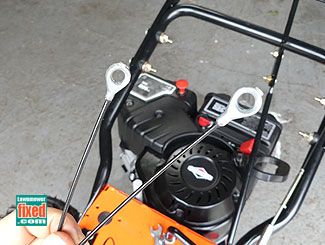 New snow blower drive cable
