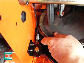 Turn pulley to fit belt